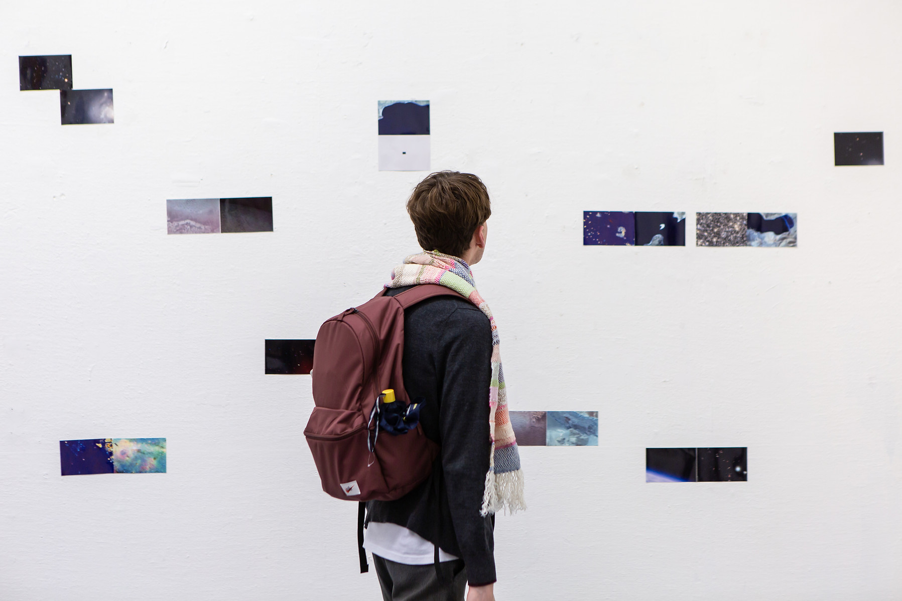 20.  Installation view of London Summer