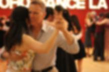 Milonga in LA Tango Vibe Bombon