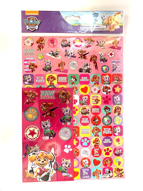 Pink Large Stickers