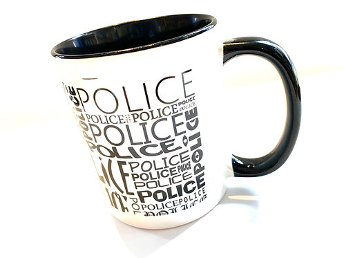 Museum mug - Police