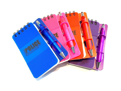 Police Note Pad & Pen