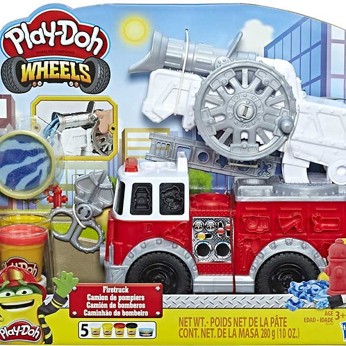 PLAY DOH WHEELS FIRETRUCK