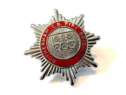 Fire Brigade cap badge