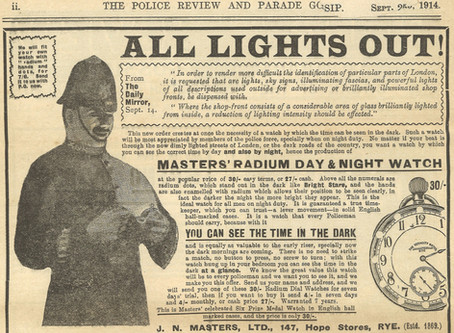 Radium: the glowing hands of time