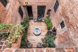 Small courtyard of the Castle