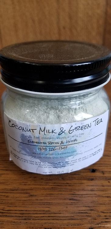 Coconut Milk & Green Tea Face Cleanser