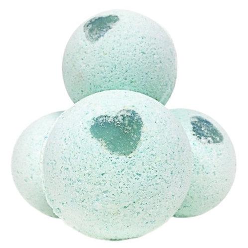 Minty Surprise Bath Bombs