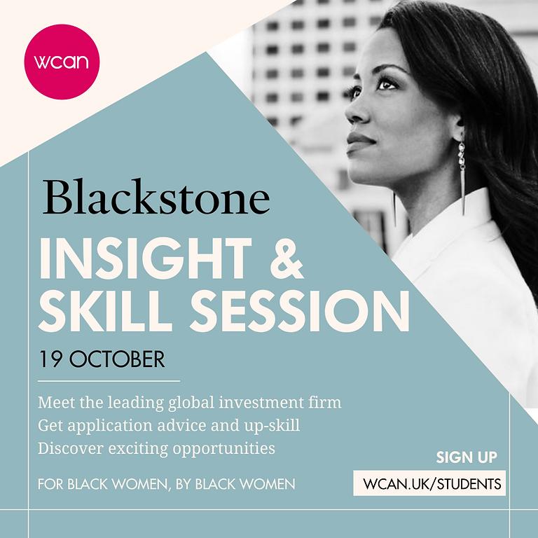 Blackstone Insight & Skills Session