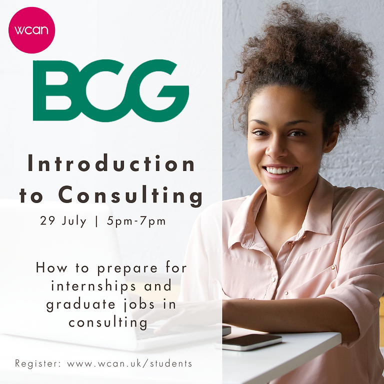 Introduction to Consulting with BCG