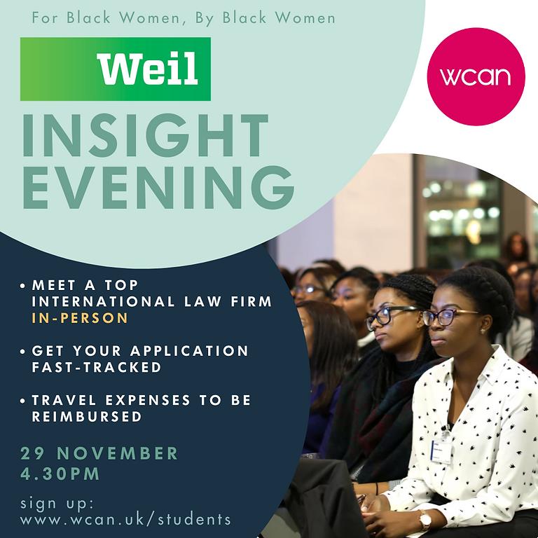 Weil Insight Evening