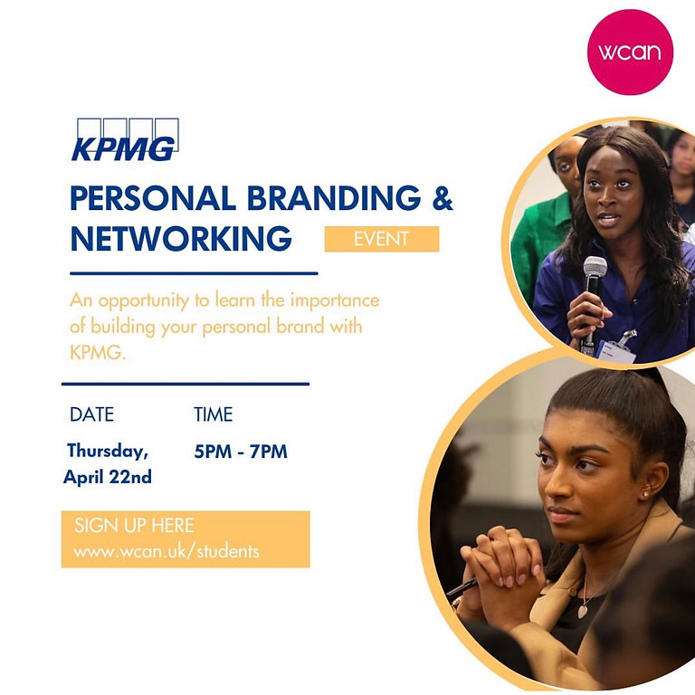 KPMG Personal Branding Event