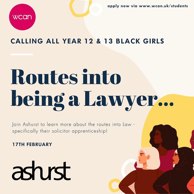 Ashurst - Pre-University Apprenticeship Event