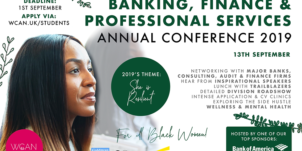 Banking, Finance and Professional Services Annual Conference 2019