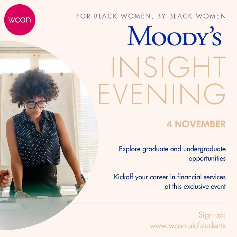 Moody's Skills Workshop & Application Clinic
