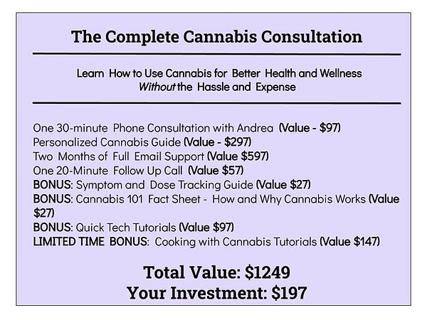 The Complete Cannabis Consultation Stack