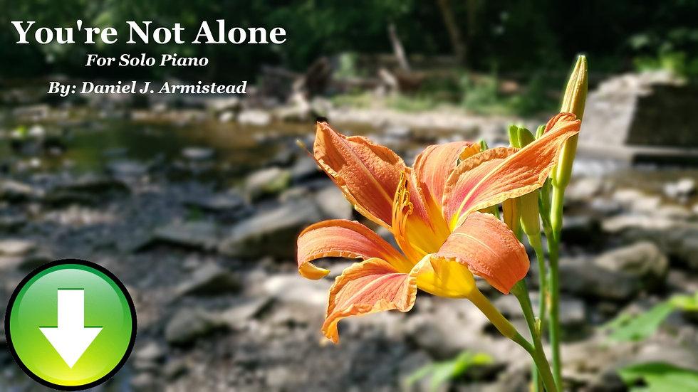You're Not Alone - Full Score (Digital Download)