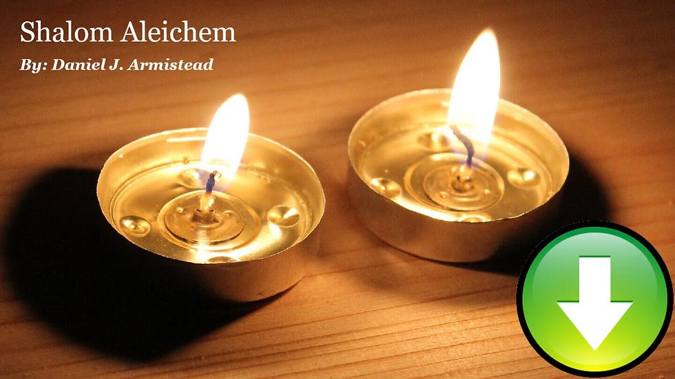 Shalom Aleichem - Full Score & Parts (Digital Download)