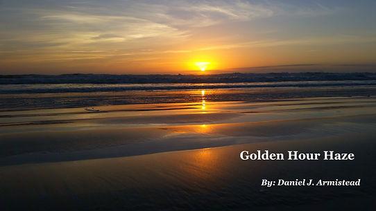 Golden Hour Haze fo Solo Bass Flute, Cello, and Piano