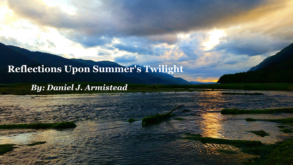 Reflections Upon Summer's Twilight - Full Score