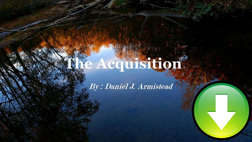 The Aquisition - Full Score & Parts (Digital Download)