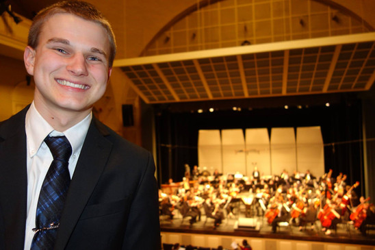 Daniel J. Armistead at The University of Delaware Symphony Orchestra Concert