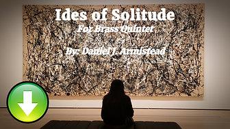 Ides of Solitude - Full Score & Parts (Digital Download)
