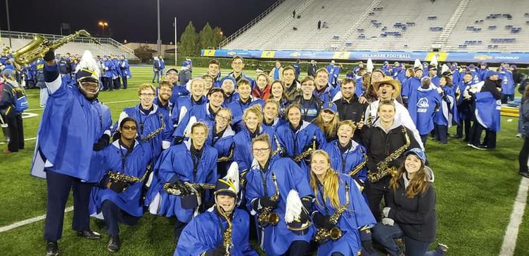 The University of Delaware Marching Band Alto Saxophone Alumni