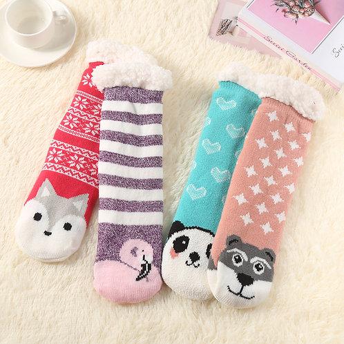 Critter Sherpa Socks Series 2