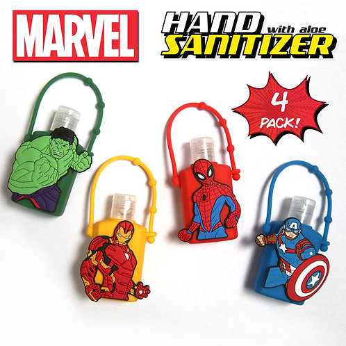 Disney Avengers Hand Sanitizer - 4 Pack