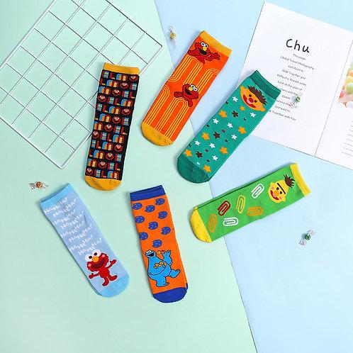 Sesame Street Kids Crew Socks