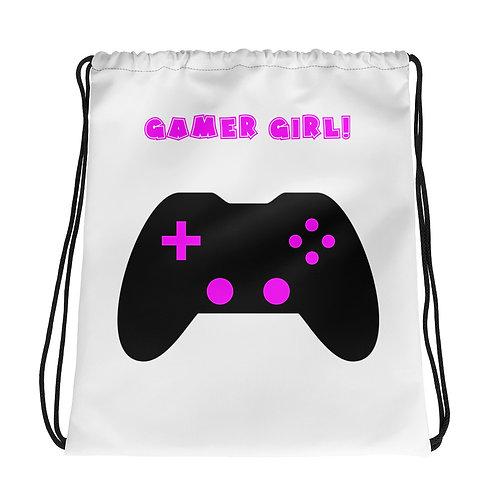 Drawstring bag_Gamer Girl 1