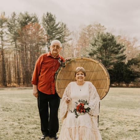 Grandparents 58th Wedding Anniversary Styled Shoot