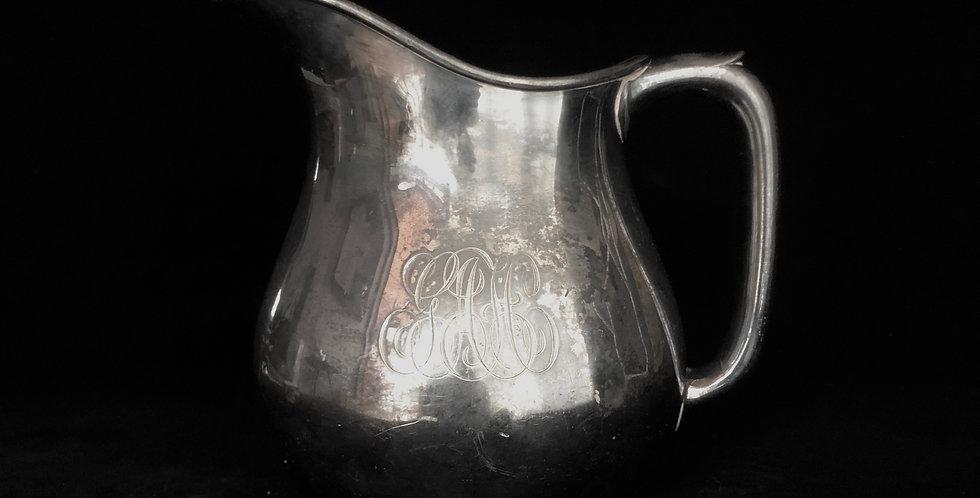 Silver plate jug