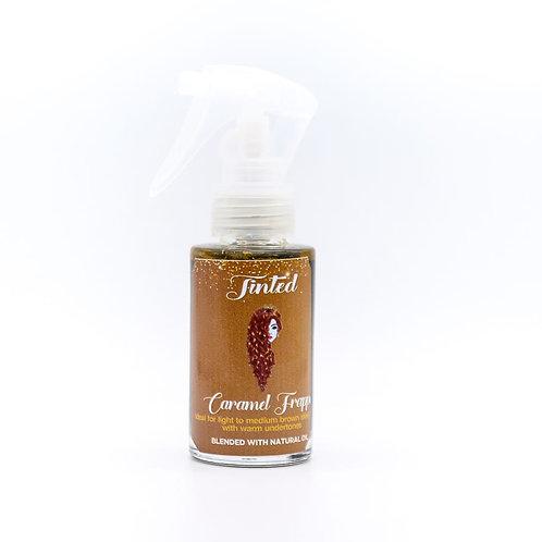 Tinted Caramel Frappe