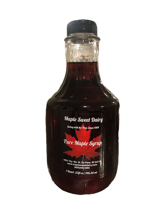 Very Dark Pure Maple Syrup (Cooking Grade)