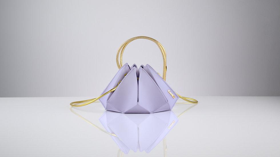 Rock midi lavender quartz gold