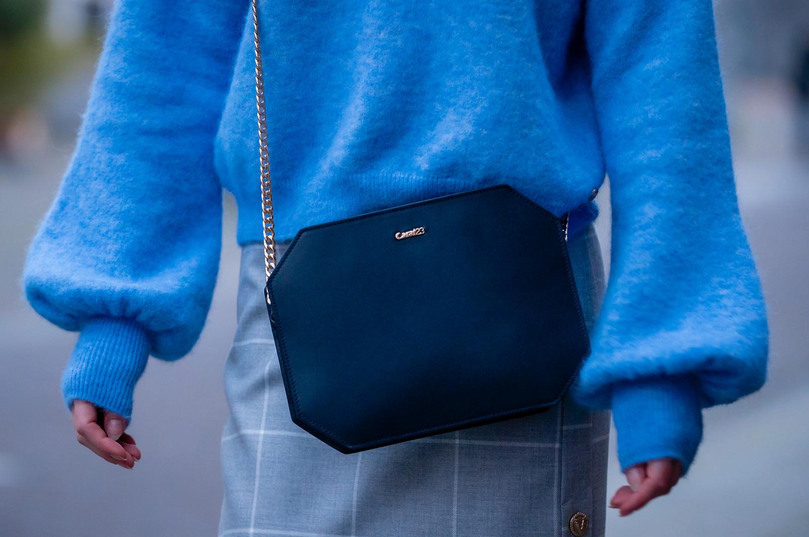 Carat23 bags - Baguette blue