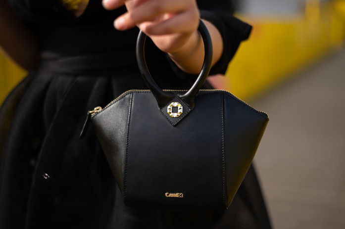 Carat23 bags - Diamond black