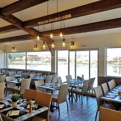 La Salle du restaurant vue sur la lagune