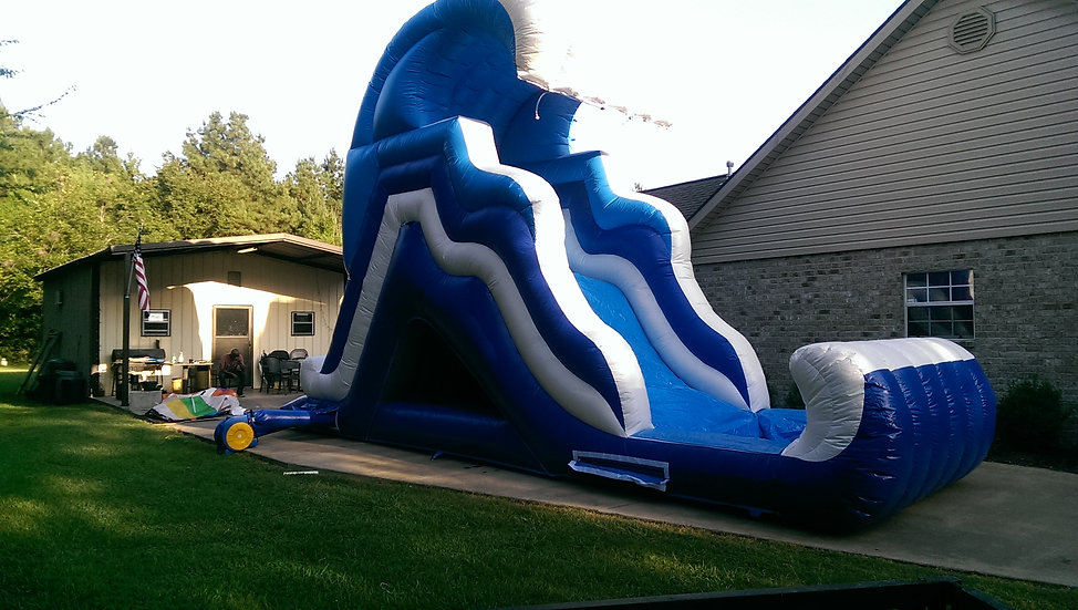 """The Wave 30L x 10W x 18H    """"Wet Only Slide"""""""