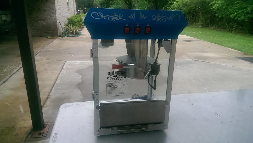 Popcorn Machine 1