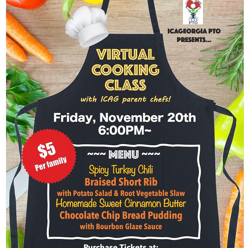 Virtual Cooking Class!
