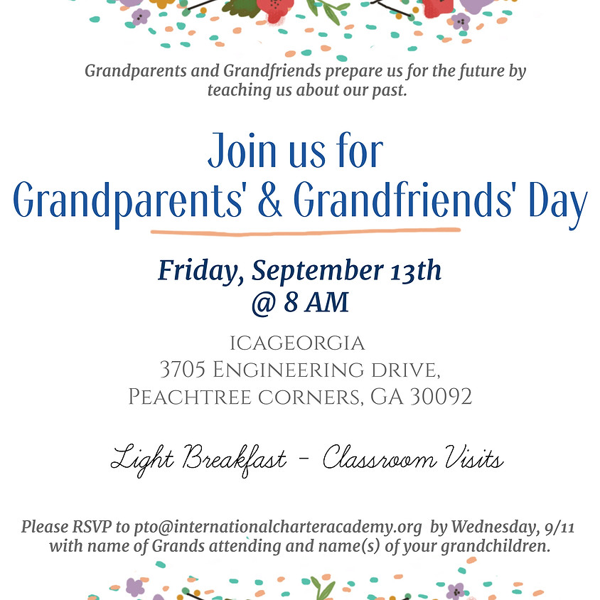 GRANDPARENTS' & GRANDFRIENDS' DAY