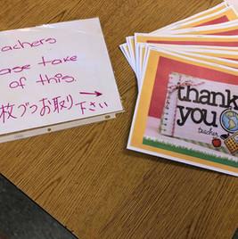 2020 Teacher Appreciation Lunch