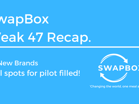 SwapBox, A Week Recap | All spots for the launch have been filled!