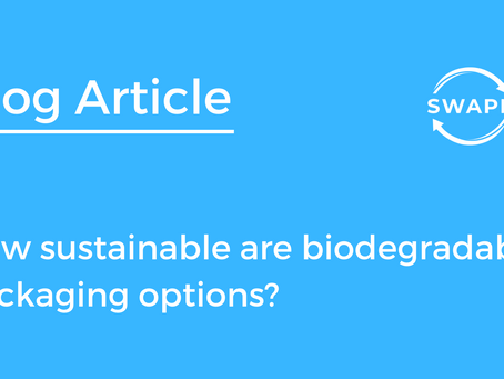 How sustainable are biodegradable packaging options?