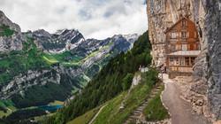 Alpenhaus, Appenzell, Schweiz