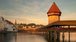 Kapellbrücke, Luzern, Schweiz