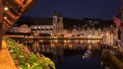 Kellbrücke & Jesuitenkirche, Luzern