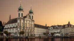 Jesuitenkirche, Luzern, Schweiz